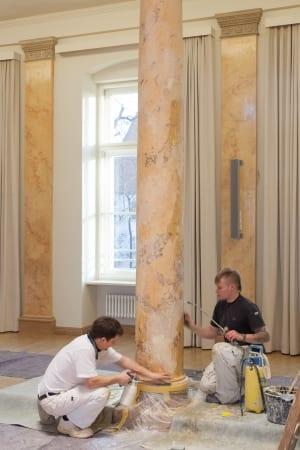 RKW Leipzig Leopoldina Akademie der Wissenschaften denkmalschutz Sanierung Logenhaus Modernisierung Gunter Binsack 13
