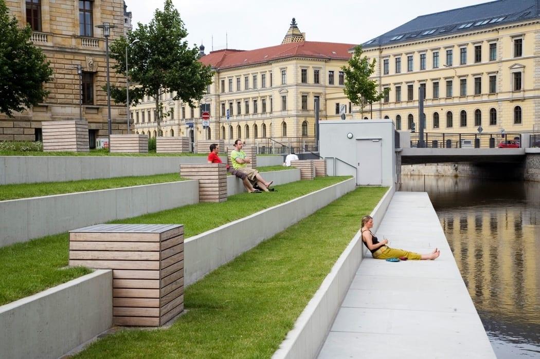 RKW Leipzig Mendelssohnufer Pleissemuehlengraben Zusammenarbeit mit GFSL Clausen und Scheil Gunter Binsack 04