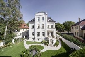 RKW Leipzig Villa Naunhofer Strasse Sanierung Denkmalschutz VEB Maschineninstandhaltung Stuckdecken Gunter Binsack 02