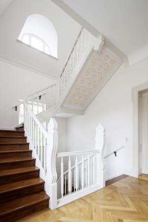 RKW Leipzig Villa Naunhofer Strasse Sanierung Denkmalschutz VEB Maschineninstandhaltung Stuckdecken Gunter Binsack 07