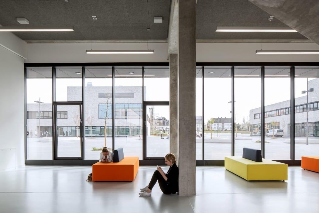 RKW Lippstadt Hochschule Hamm Lippstadt Studenten Fachbereiche Hoersaalzentrum Labore Werkstatt Mediathek Marcus Pietrek 08