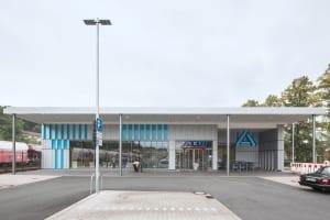 RKW Menden Neuer Bahnhof Fachmarktzentrum historisches Bahnhofsgebaeude Einzelhandel Marcus Pietrek 03