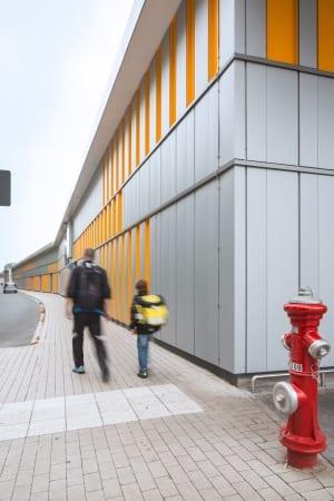 RKW Menden Neuer Bahnhof Fachmarktzentrum historisches Bahnhofsgebaeude Einzelhandel Marcus Pietrek 05