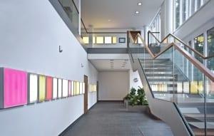 RKW Mettmann Amtsgericht Innenarchitektur Fassadenentwurf Innenarchitektur Geothermie taktiles Leitsystem Tomas Riehle 03