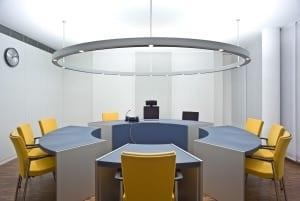 RKW Mettmann Amtsgericht Innenarchitektur Fassadenentwurf Innenarchitektur Geothermie taktiles Leitsystem Tomas Riehle 04