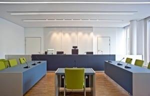 RKW Mettmann Amtsgericht Innenarchitektur Fassadenentwurf Innenarchitektur Geothermie taktiles Leitsystem Tomas Riehle 05
