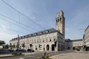 RKW Muelheim Rathaus Sanierung Ruhrbania Denkmalschutz Kriegsschaeden Rotunde Ratssaal Fraktionssaele Michael Reisch 01