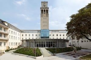 RKW Muelheim Rathaus Sanierung Ruhrbania Denkmalschutz Kriegsschaeden Rotunde Ratssaal Fraktionssaele Michael Reisch 03