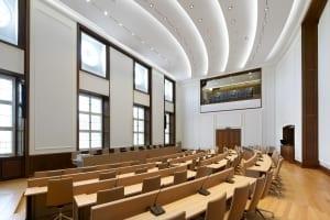 RKW Muelheim Rathaus Sanierung Ruhrbania Denkmalschutz Kriegsschaeden Rotunde Ratssaal Fraktionssaele Michael Reisch 07