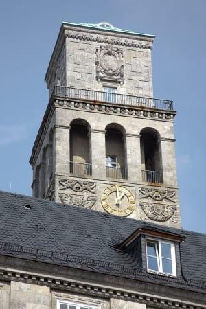 RKW Muelheim Rathaus Sanierung Ruhrbania Denkmalschutz Kriegsschaeden Rotunde Ratssaal Fraktionssaele Michael Reisch 17