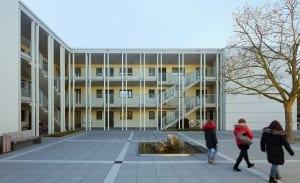 RKW Neuss Christuskirchengemeinde Wohnen Konrad Adenauer Ring Gemeindezentrum Kindergarten Michael Reisch 02