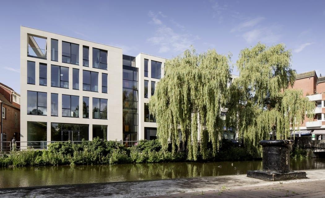 RKW Nordhorn List AG Erweiterung Innenarchitektur Zen Garten Marcus Pietrek 01