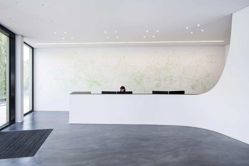 RKW Nordhorn List AG Erweiterung Innenarchitektur Zen Garten Marcus Pietrek 03