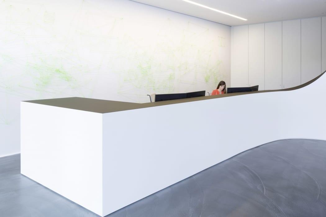 RKW Nordhorn List AG Erweiterung Innenarchitektur Zen Garten Marcus Pietrek 05