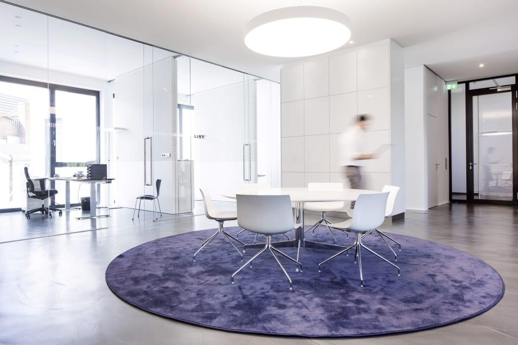 RKW Nordhorn List AG Erweiterung Innenarchitektur Zen Garten Marcus Pietrek 06
