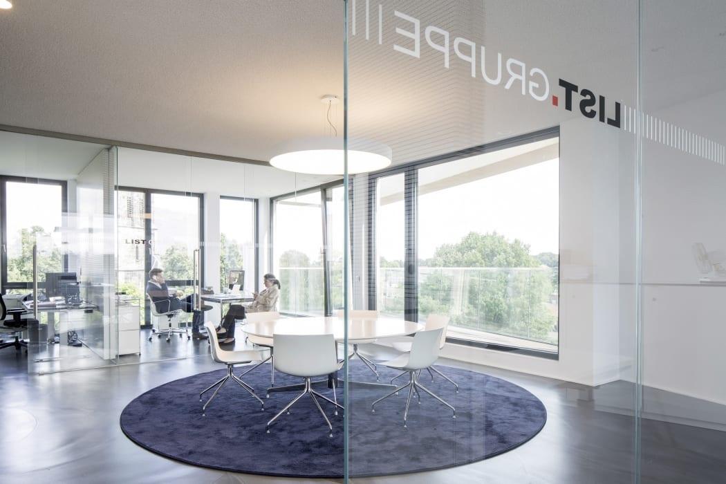 RKW Nordhorn List AG Erweiterung Innenarchitektur Zen Garten Marcus Pietrek 07