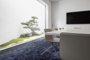 RKW Nordhorn List AG Erweiterung Innenarchitektur Zen Garten Marcus Pietrek 10
