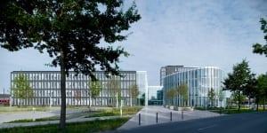 RKW Oldenburg LzO Landessparkasse Hauptverwaltung Raum der Stille Mann im Matsch Thomas Schuette Stefan Mueller 03