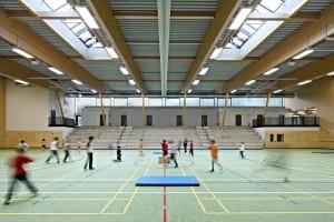 RKW Osburg Mehrzweckhalle Schul und Vereinssport–Kegelbahnanlage Lukas Huneke 01