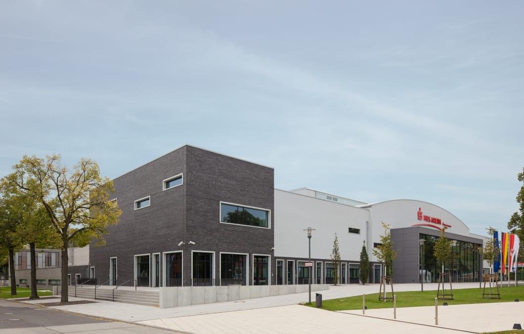 RKW Potsdam MBS Arena Sportmehrzweckhalle Luftschiffhafen Sportpark Dreifeldhalle Fechten Gunter Binsack 01