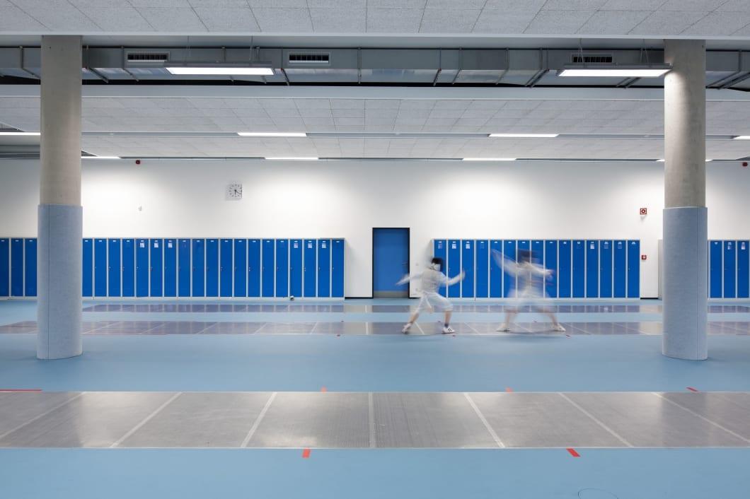RKW Potsdam MBS Arena Sportmehrzweckhalle Luftschiffhafen Sportpark Dreifeldhalle Fechten Gunter Binsack 03