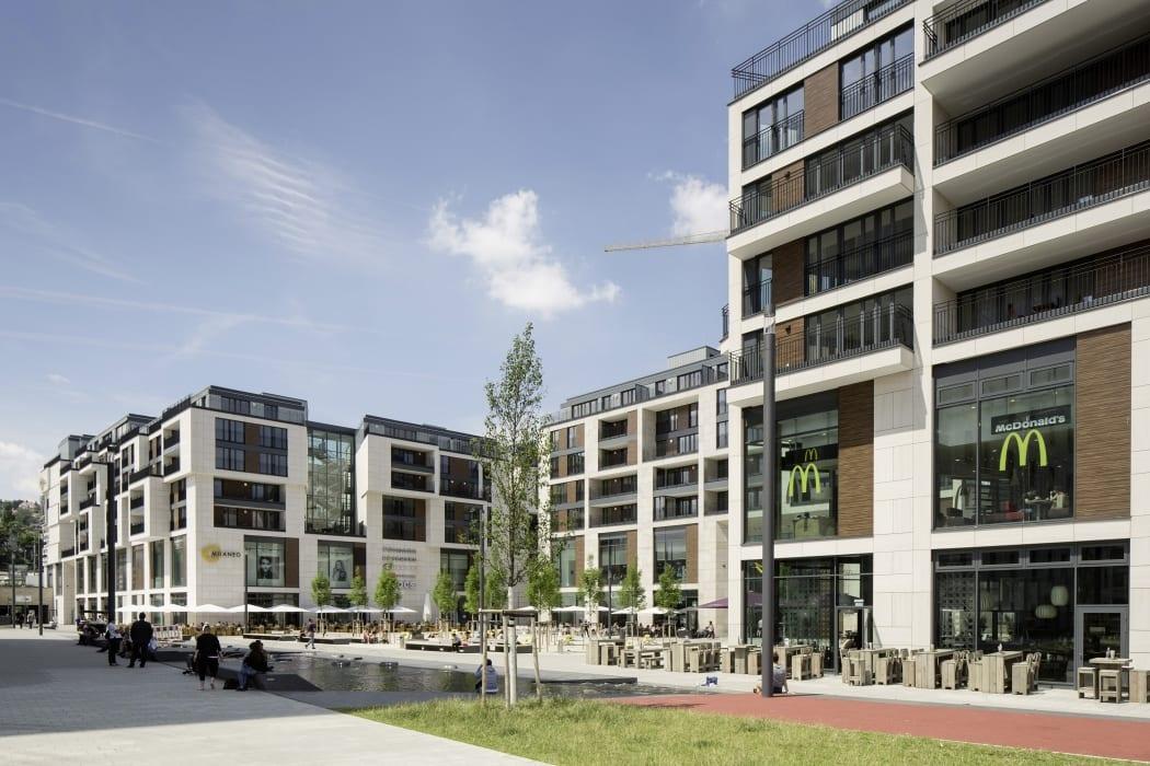 RKW Stuttgart Milaneo Shopping Center Einzelhandel Einkaufszentrum Quartier am mailaender Platz ICSC Award 2016 MIPIM Award 2015 Marcus Pietrek 03