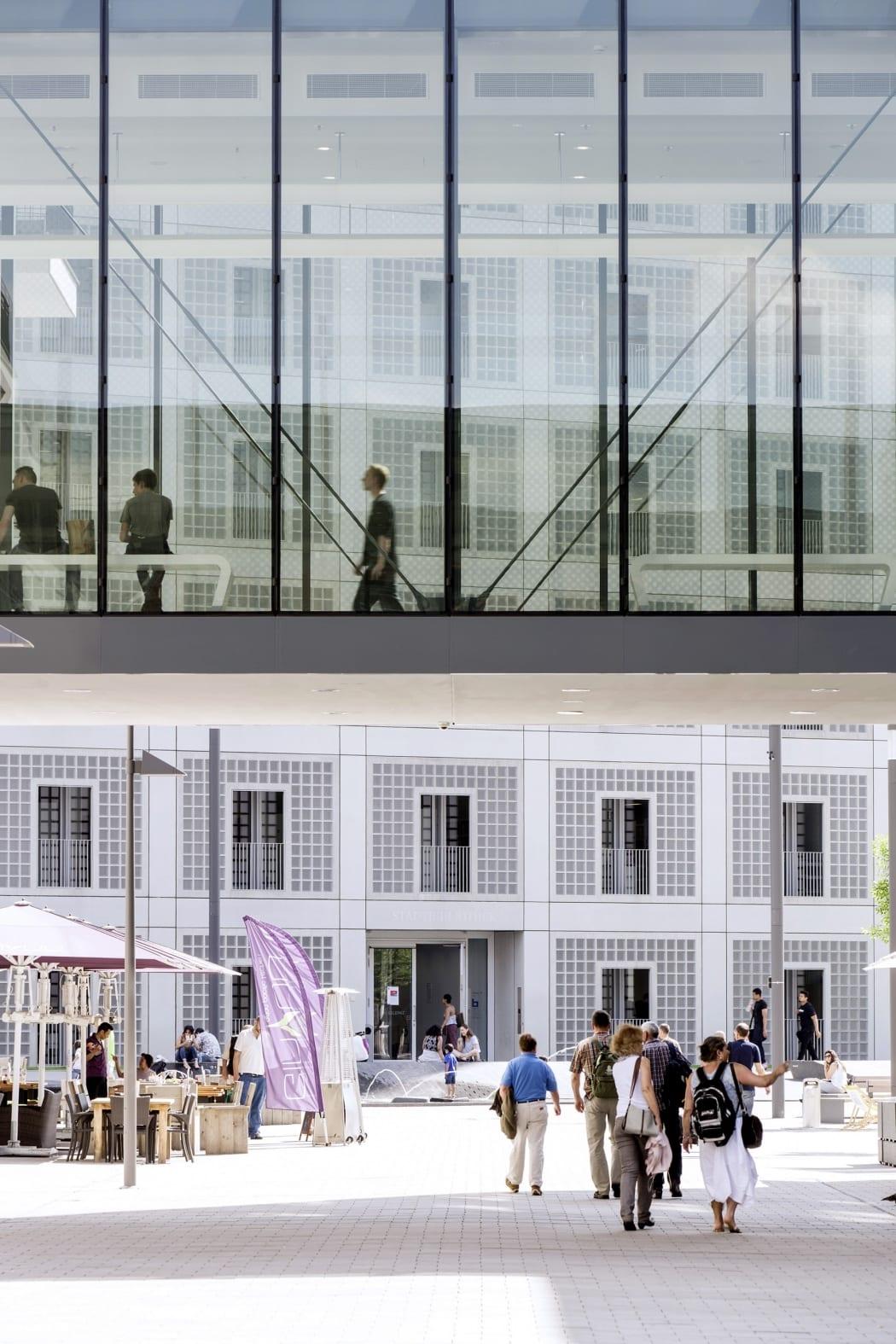RKW Stuttgart Milaneo Shopping Center Einzelhandel Einkaufszentrum Quartier am mailaender Platz ICSC Award 2016 MIPIM Award 2015 Marcus Pietrek 07