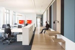 RKW Stuttgart EnBW City Innenarchitektur Hauptverwaltung Energieversorger Arbeitsplatzvarianten Marcus Pietrek 03