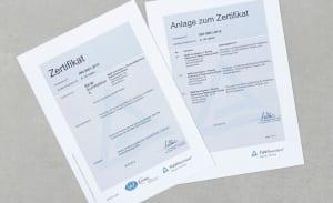 RKW ISO Zertifikat