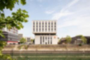 RKW 7 Days Premium Hotel Duisburg Innenhafen Plateno Group Hebebruecke Schwanentor 02