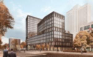 RKW Hochhausentwicklung Partheufer Leipzig Landmarke Blockrandbebauung 01