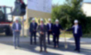 RKW Kreishandwerkerschaft Bildungscenter Rheine Spatenstich 02