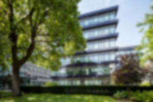 RKW Bau11 Rohde und Schwarz Campus Muenchen Kernsanierung laufender Betrieb Hightech Bestandsgebaeude 01