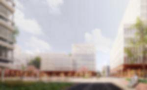RKW Neue Mitte Thon Nuernberg Staedtebaulicher Wettbewerb Architektur 06