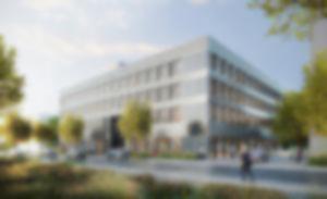 RKW QUADRATUM Potsdam Laborbereiche Wissenschaftscampus DGNB Gold Visualisierung Formtool 01