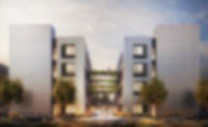 RKW QUADRATUM Potsdam Laborbereiche Wissenschaftscampus DGNB Gold Visualisierung Formtool 03