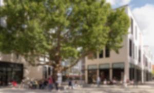 P150 RKW Hanau Forum Hanau Shopping Center Einzelhandel Einkaufszentrum Wettbewerblicher Dialog Marcus Schwier 07