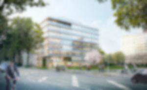 RKW LevelZ Duesseldorf zukunftsweisendes Buerogebaeude Visualisierung Formtool 01