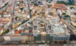 Luftbildaufnahmen Am Tacheles Berlin Mitte Sommer 2021
